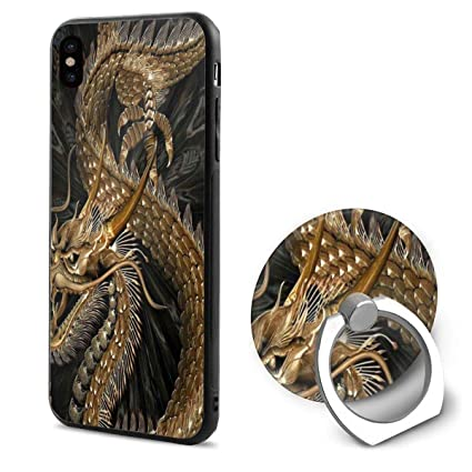 Amazoncom Iphone X Case Chinese Dragon Wallpapers Phone