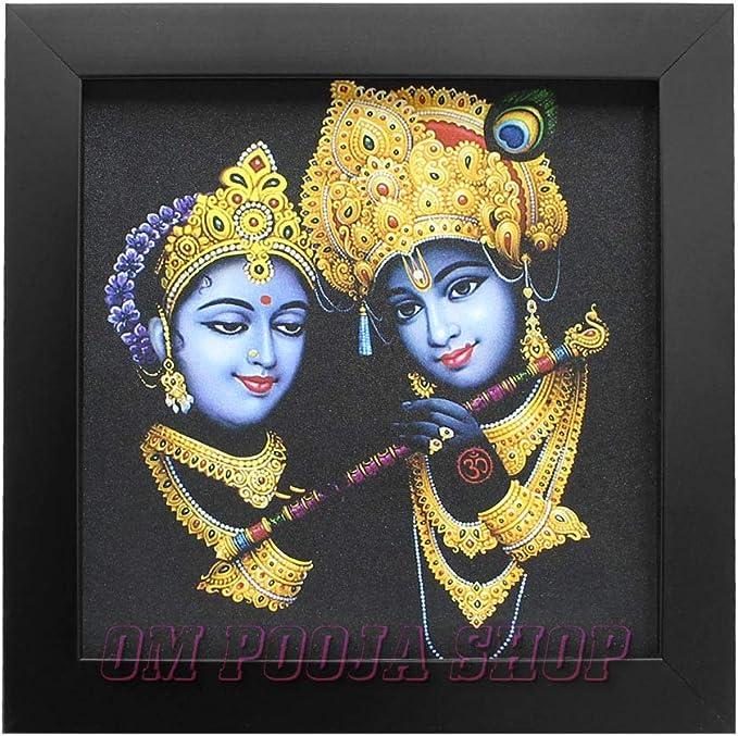 Photo Frames Online Picture Framing Gods Picture Frame Photo Frames Photo Frame Radha Krishna Hindu Gods In Size \u2013 40\u2033 X 20\u2033 Inches