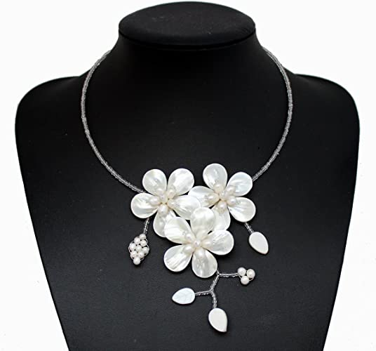 Pendants Jewelry & Accessories Nice Fashion New Natural White Freshwater Mother Of Pearl Shell Flower Pendant