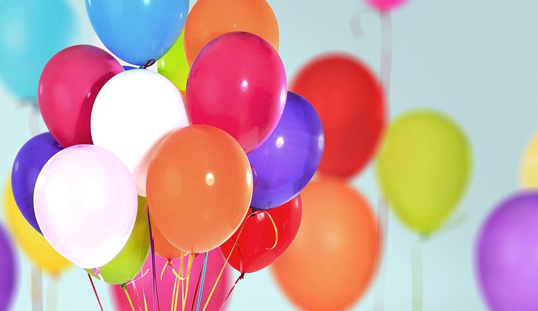 fiestas florister/ías festivales artesan/ías Pack de 24 Multicolor Juvale Cintas con globos para envolver regalos