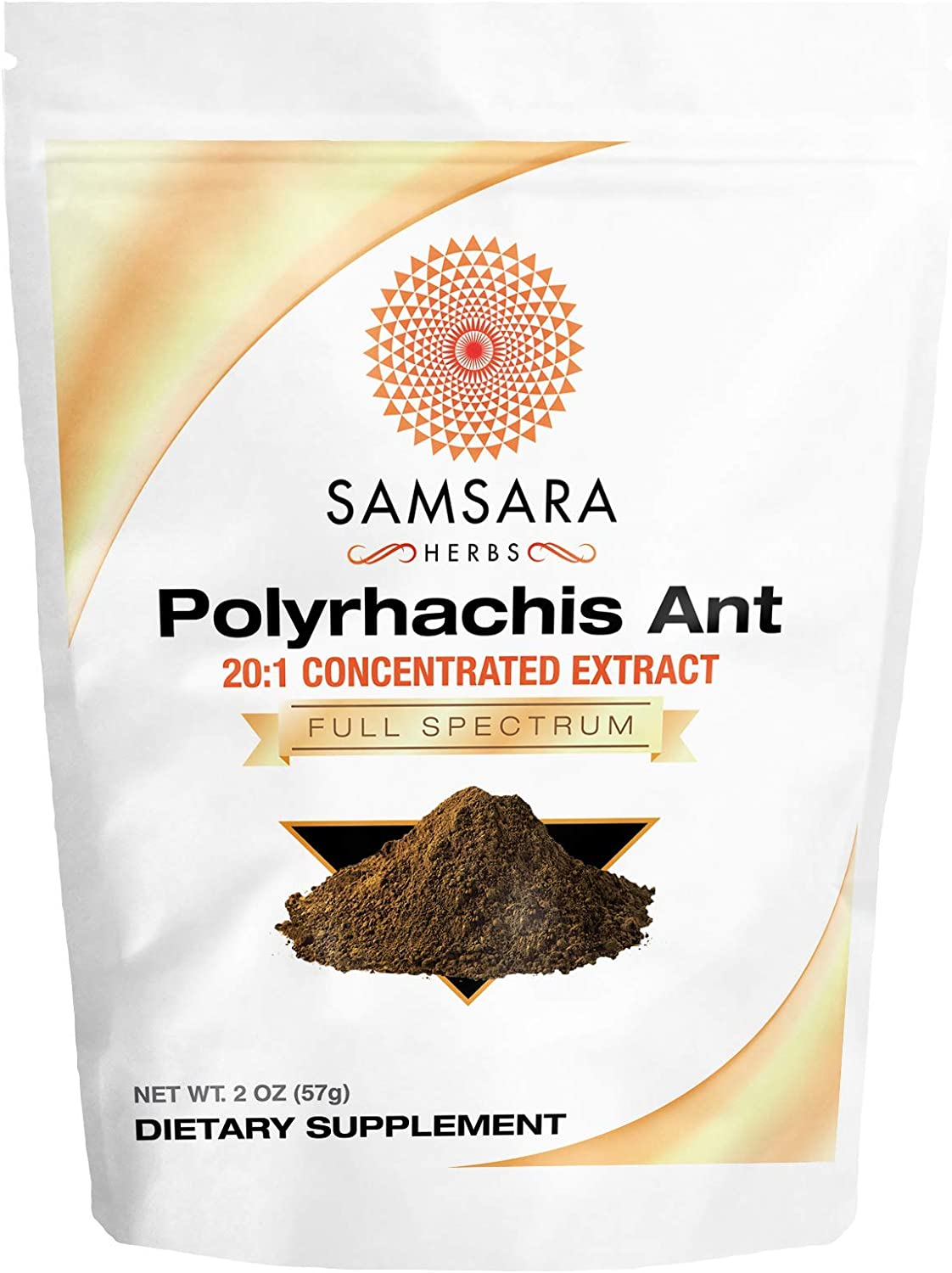 Samsara Herbs Polyrhachis Ant Extract Powder – 20 1 Concentrated Extract 4oz