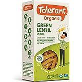 Tolerant Organic Green Lentil Penne Pasta, 8 oz Box (Case of 6), Plant-Based Protein, Vegan Pasta, Single Ingredient…