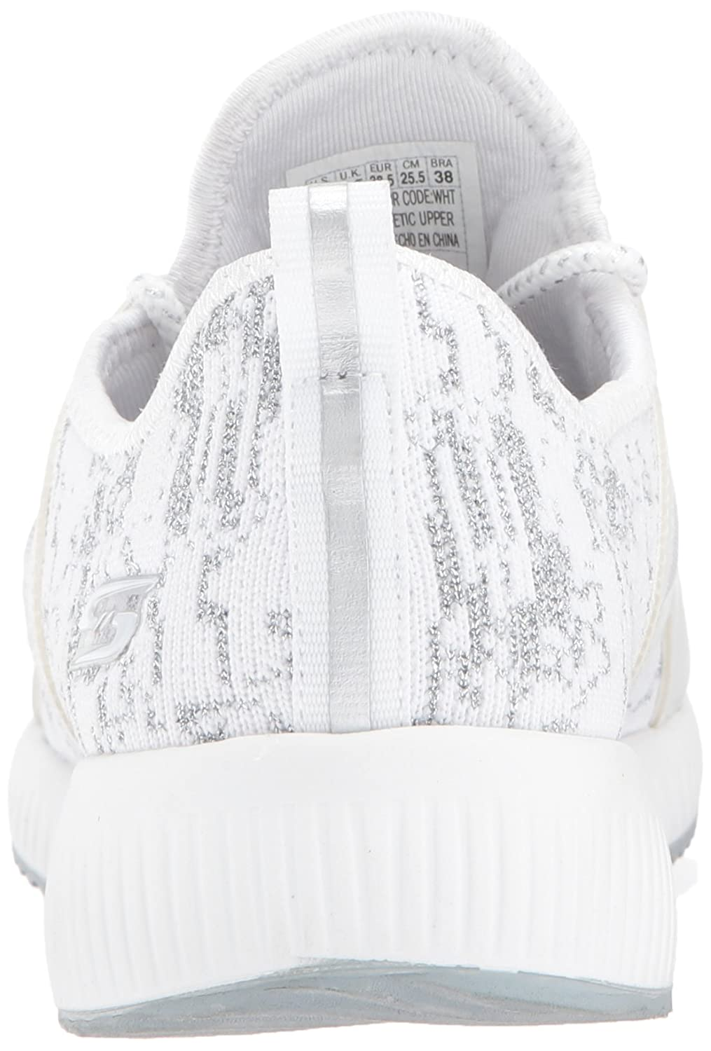 BOBS from from from Skechers Woherren Bobs Squad-Glossy Finish Fashion Turnschuhe Weiß 8.5 M US 42e8cc