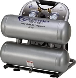 California Air Tools CAT-4610S Ultra Quiet & Oil-Free 1.0 hp 4.6 gallon