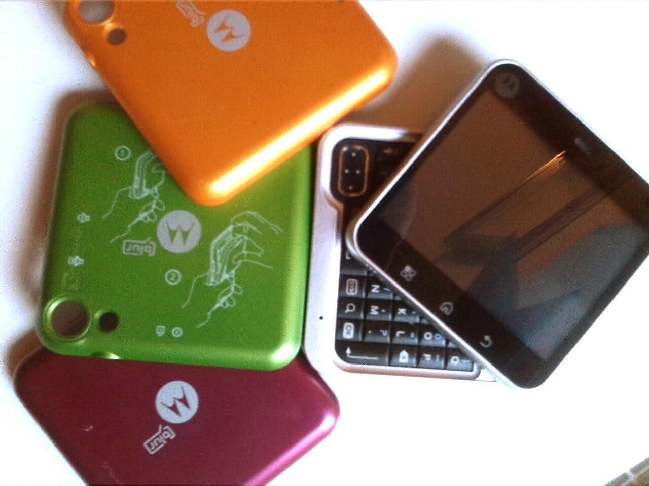 Motorola Flipout - Smartphone libre Android (teclado QWERTY) color ...