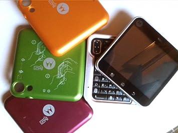 Motorola Flipout - Smartphone libre Android (teclado QWERTY ...