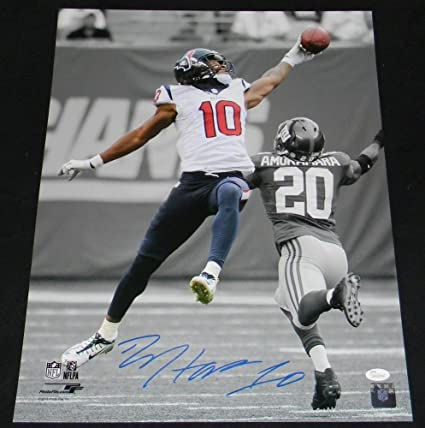 Image Unavailable. Image not available for. Color  Deandre Hopkins Signed  Autographed Houston Texans ... b2872522e