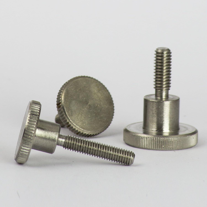 Tornillos Forma alta DIN 464/Acero Inoxidable A1/ opiol Quality | Tornillo moleteados Pulgar Tornillos 4/unidades