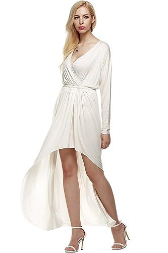 ANGVNS Evening Dress Women Sexy Long Sleeve Maxi Dress