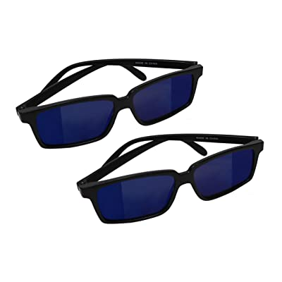 Smart Novelty Spy Glasses with Rearview Mirror Vision to See Behind You - 2 Pack: Toys & Games
