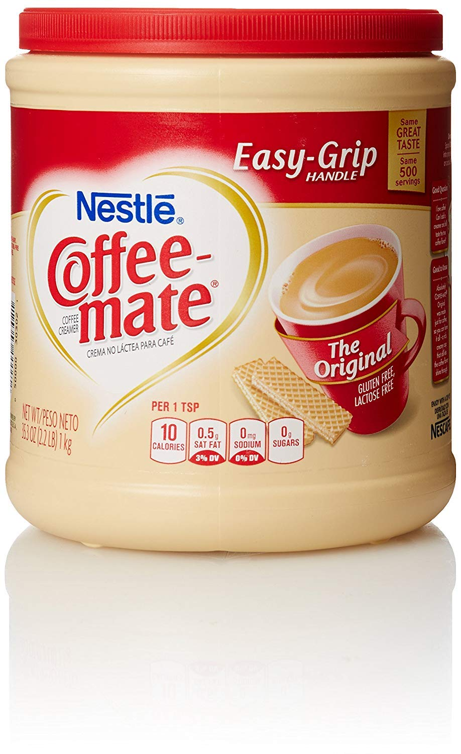 Coffee-Mate Powder Original, 56 oz (2 Pack) (35.3 oz (8 Pack) …) by Nestle Coffee Mate (Image #1)