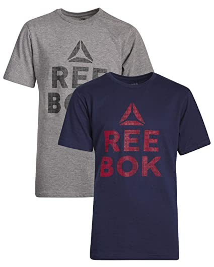 1ccaf531209b4 Reebok Boys Short Sleeve T-Shirt (2 Pack)