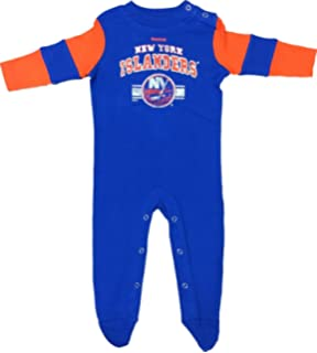 Reebok New York Islanders 3pc Baby Creeper Bodysuit Set