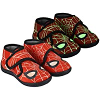 CERDÁ Life'S Little Moments, Zapatillas para Casa de Spiderman-Niña - Licencia Oficial Marvel para Niños, Rojo
