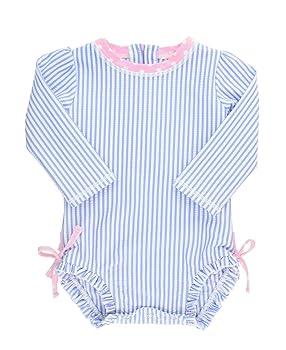 RuffleButts Baby Toddler Girls Swimsuit