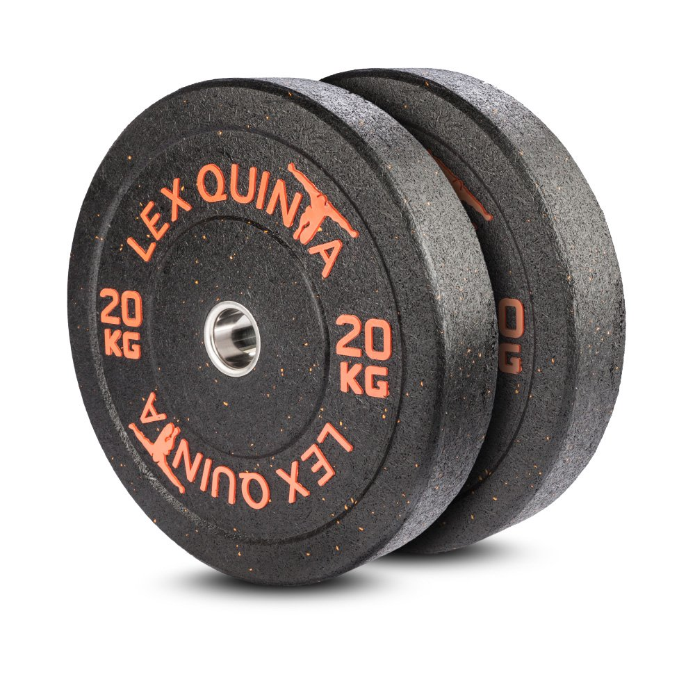 Lex Quinta Blaster Plate Orange 2 x20 Kg - Bumperplates für 50mm Langhanteln