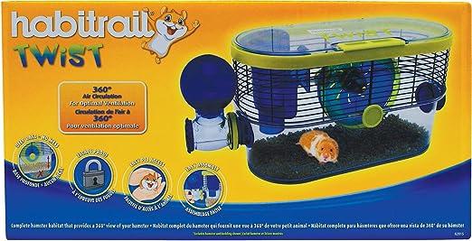 Habitrail Twist Hamster Cage, 48 5cm x 19cm x 24cm