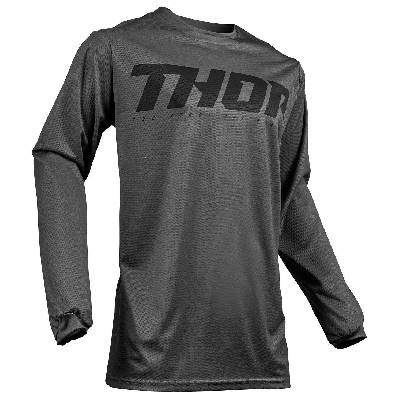 Thor Pulse Smoke MX Jersey Medium Grey