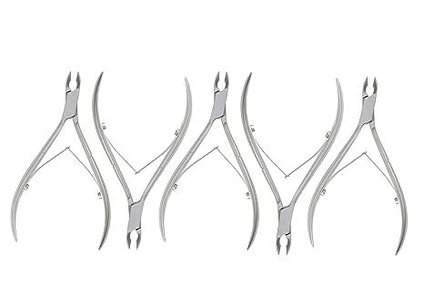 alicate para cutículas - cortador de cutículas - alicates para uñas para pedicura para manicura -