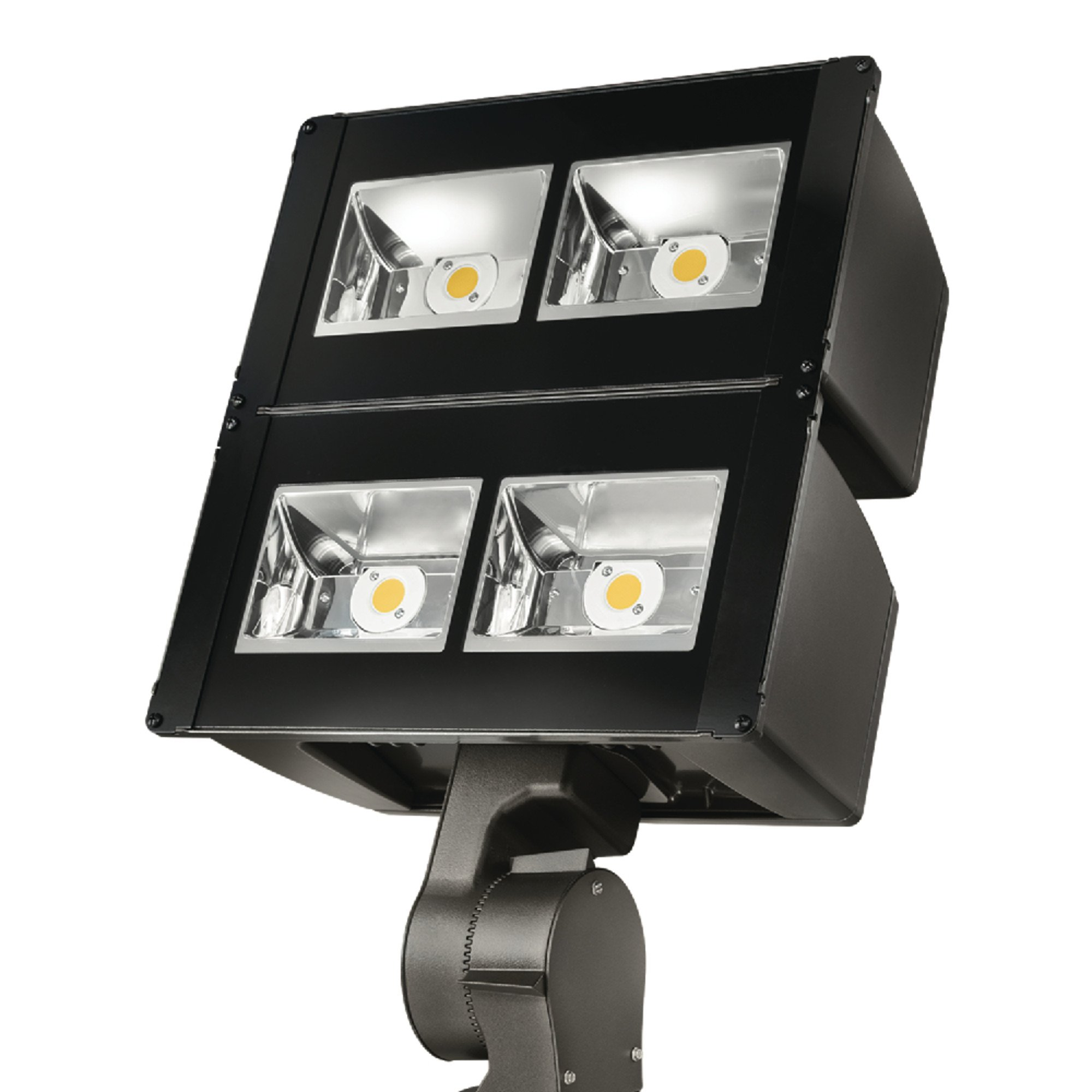 Lumark Nffld-L-C100-S Night Falcon 252W Carbon Outdoor Integrated LED Area Light with Slipfitter Mounting, Bronze
