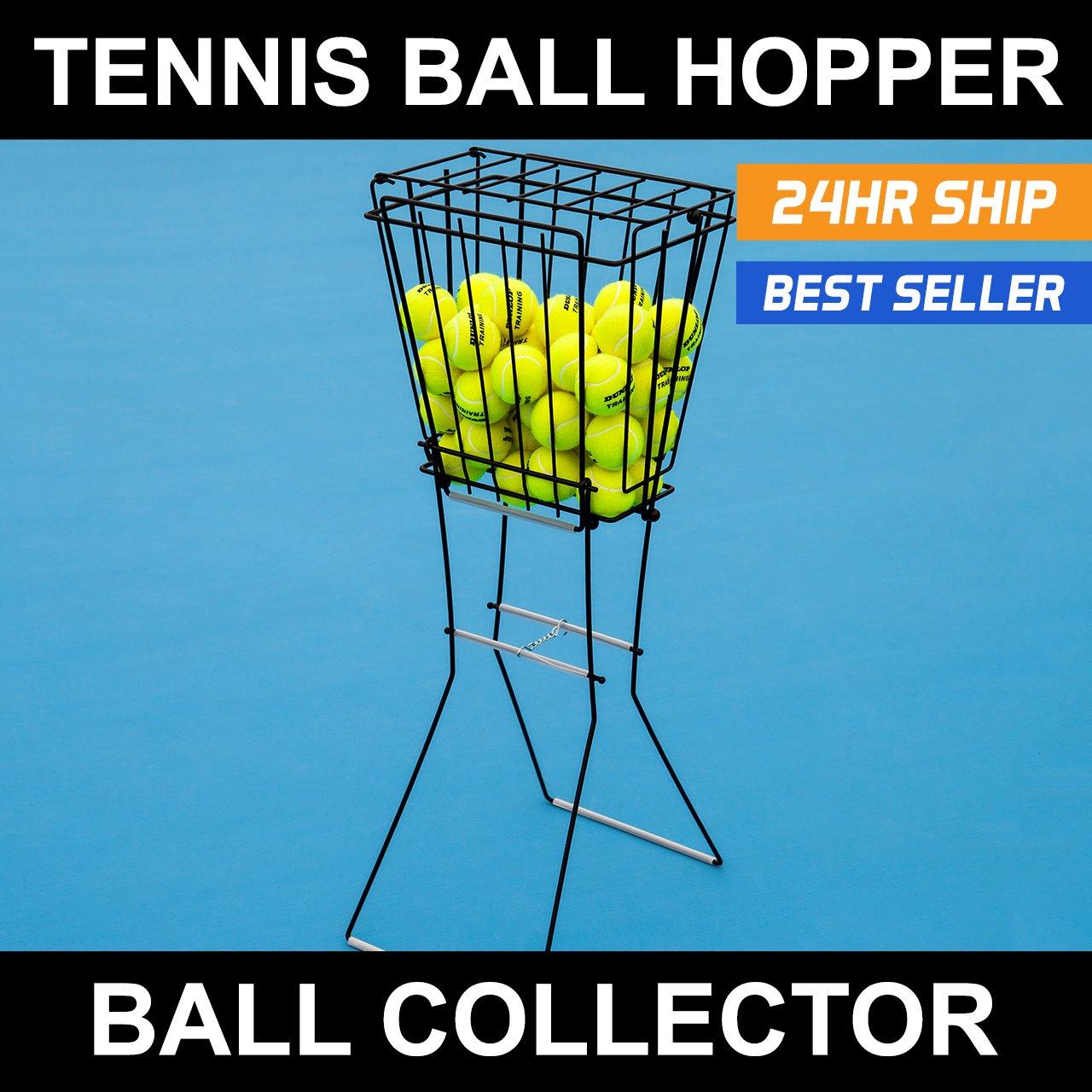 72 Tennis Ball Hopper & Basket [Net World Sports]