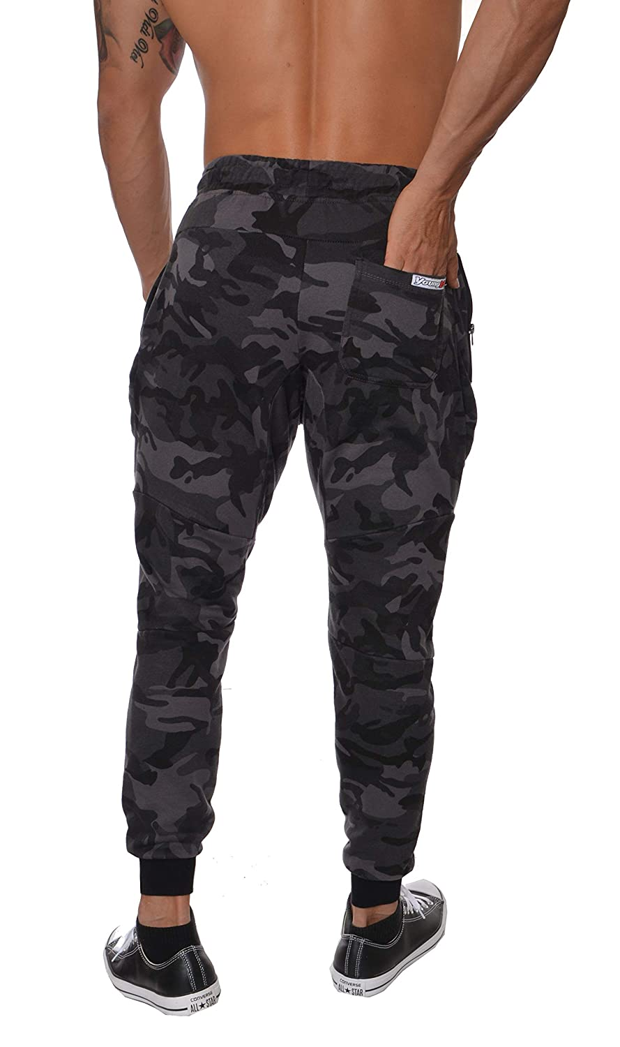 305e08df5bdb YoungLA French Terry Cotton Sweatpants Jogger Pants at Amazon Men s  Clothing store