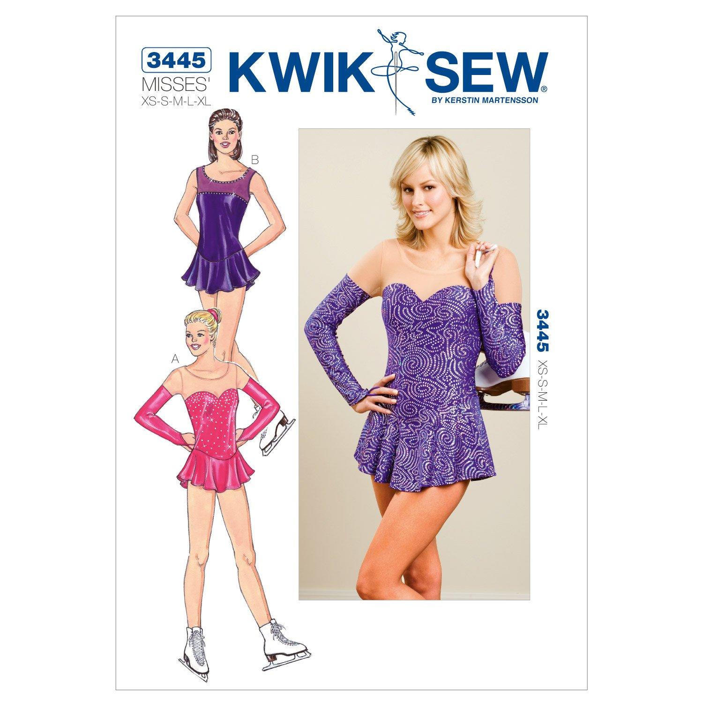 Kwik Sew 3445 - Patrón de costura para confeccionar traje para ...