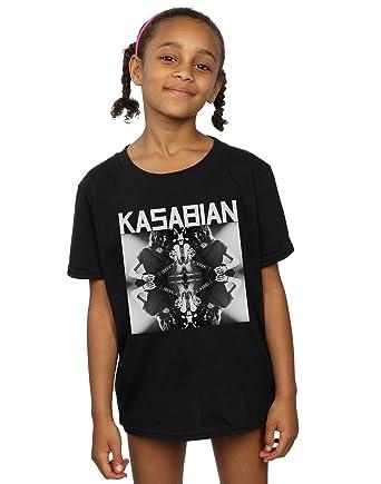 Kasabian Mädchen Solo Reflect T-Shirt 5-6 Years Schwarz