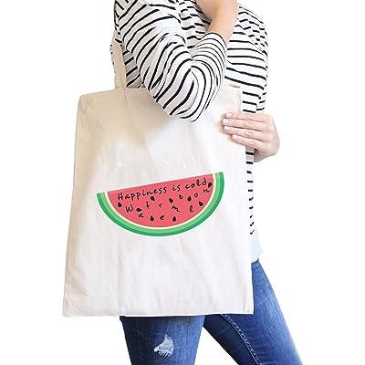 365 Printing Cotton Canvas Bag Cute Summer Theme Design Eco-Friendly Beach Tote