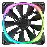 NZXT Aer RGB 2 発光ファン [ 120mm ] HF-28120-B1