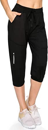 """ALWAYS Women's 3"""" Yoga Shorts - Premium Soft Tummy Control Workout Stretch Solid Leggings Pants with Pockets"""
