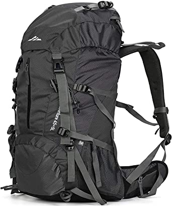 Large Internal Frame 50L Backpack Hiking Climbing Camping Bag Waterproof Travel