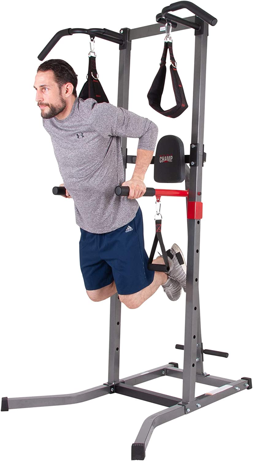 Body Champ Multi Function Power Tower Multi Station Gym Dip Stands Pull Up Push Up VKR1987