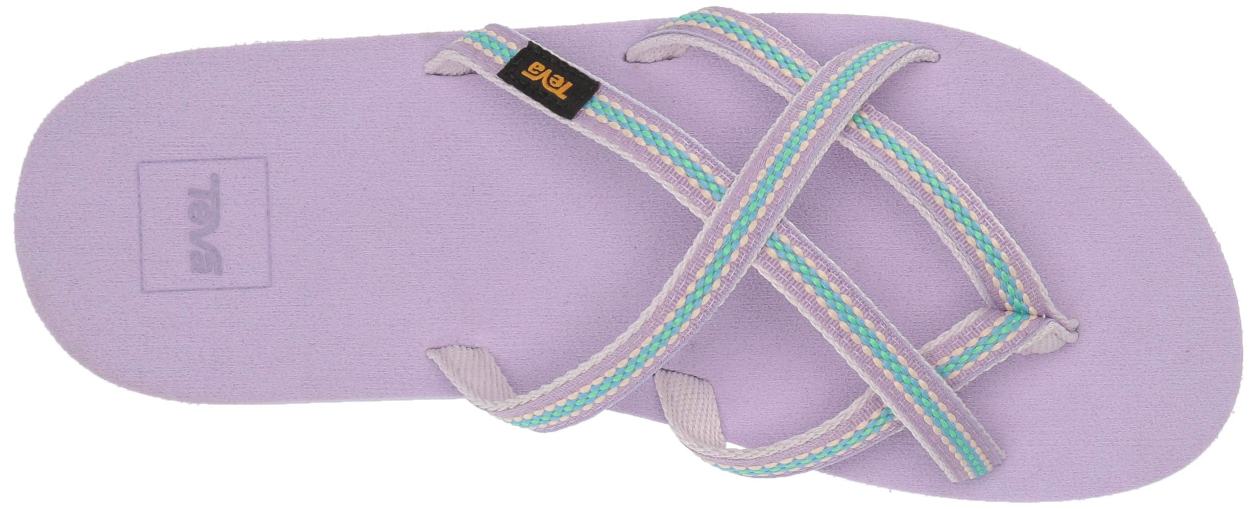 Teva Girls' Y Olowahu Sport Sandal, Lindi Orchid Bloom, 7 Medium US Big Kid by Teva (Image #9)