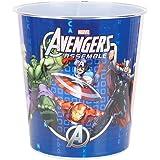 Marvel Avengers Assemble Resin Character Wastebasket, Blue