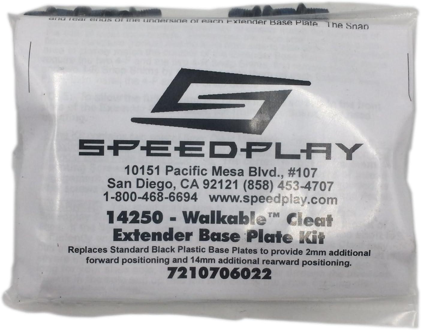 Speedplay Aero Walkable Cleat Extender Base Plate Kit