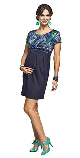 2in1 Elegantes und Bequemes Umstandskleid/Stillkleid, Modell: Ronja