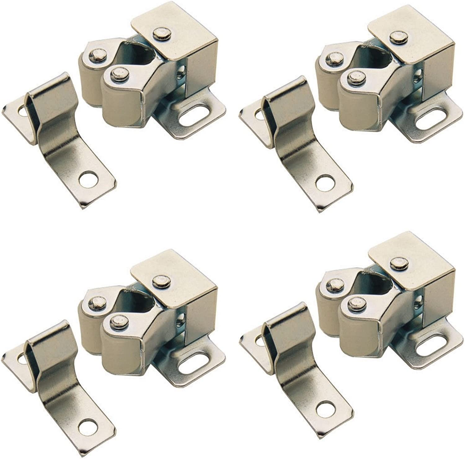 3 X Double Roller Cupboard Catch Screws Included