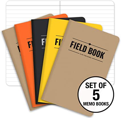 Cuaderno de notas - 8,89 cm x 13,97 cm - Bloc de notas recordatorias - Pack de 5.: Amazon.es: Oficina y papelería