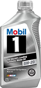 6-Pack Mobil 1 44975 1Qt. 5W-20 Synthetic Motor Oil