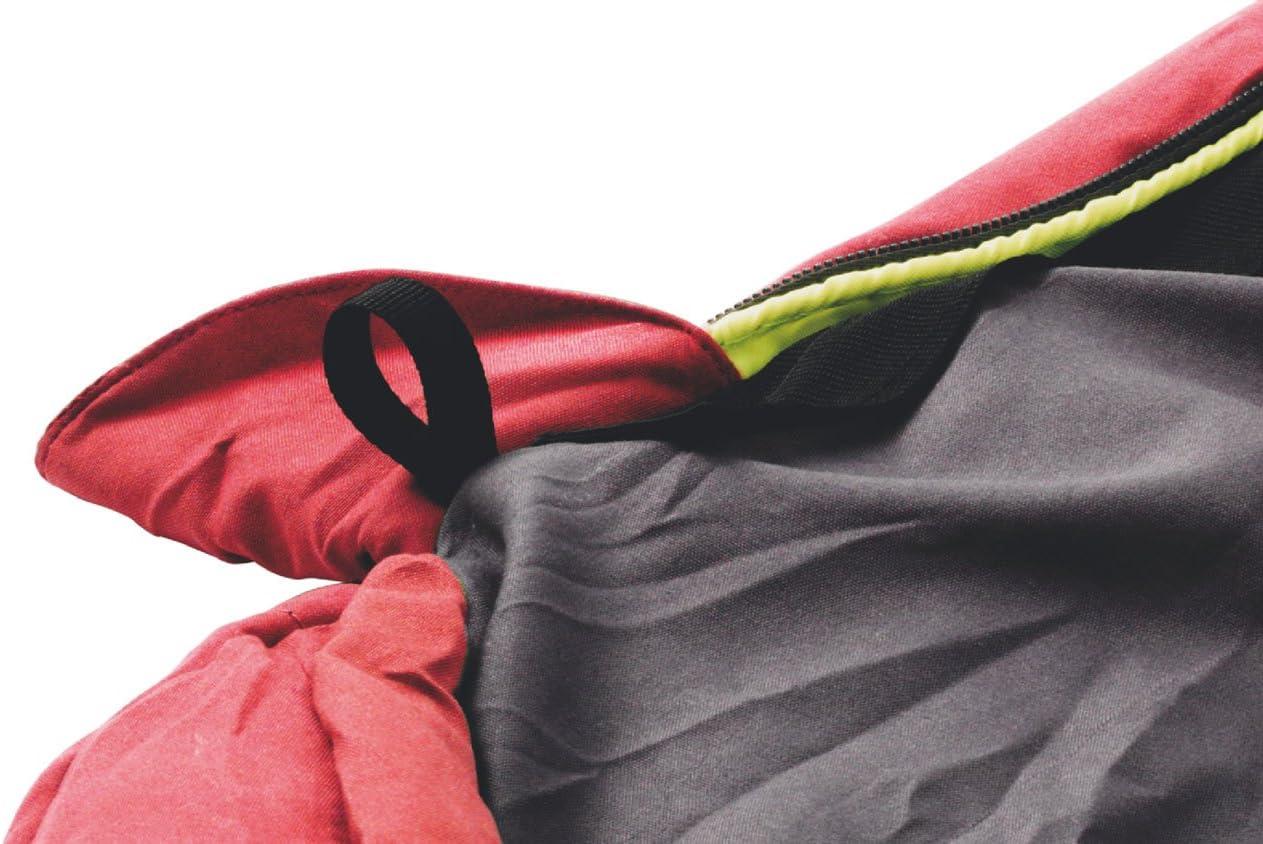 225 x 85 x 60 cm Rot Outwell Erwachsene Schlafsack Campion Lux