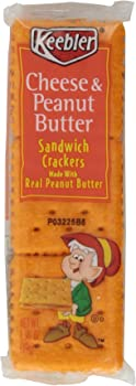 48-Count Keebler Cheese & Peanut Butter Sandwich Crackers