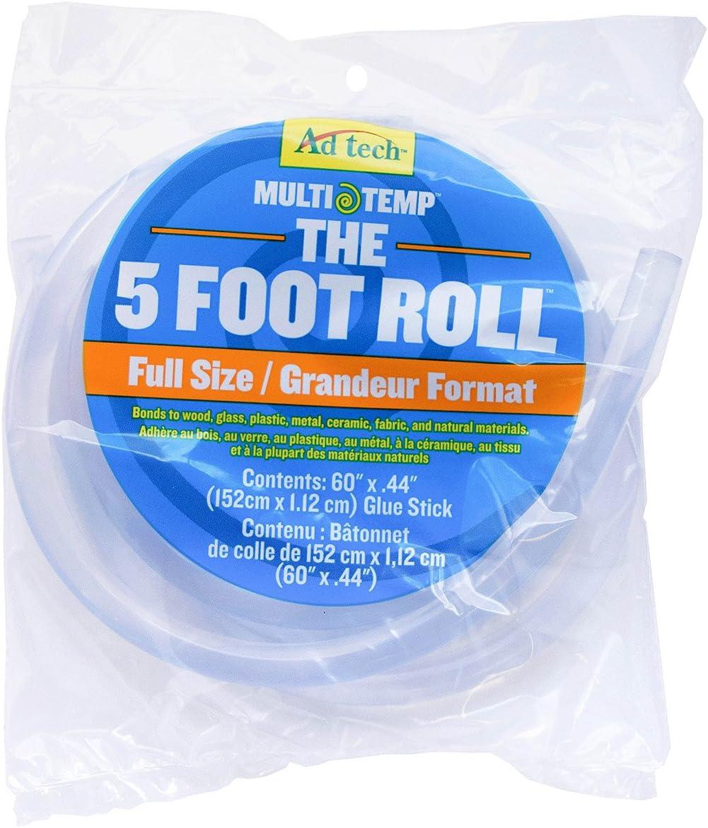 Adtech Ad-Tech 220-160 5Ft 5 Foot Roll-Full Size Glue Stick