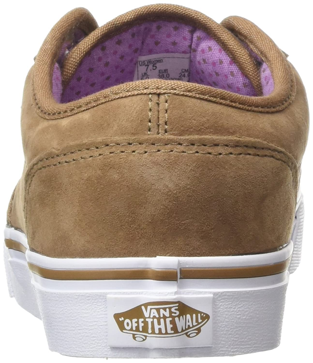 Vans Atwood, Baskets Basses Femme, Marron (MTE Toasted Coconut/African Violet), 35 EU