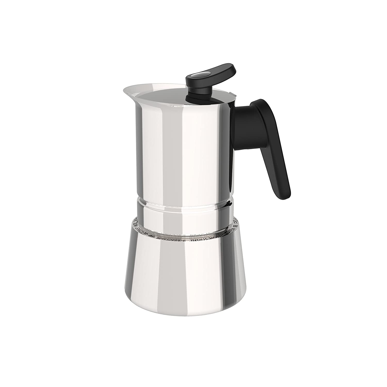 Pedrini: 2 Cups Espresso Coffee, Steel 02CF036