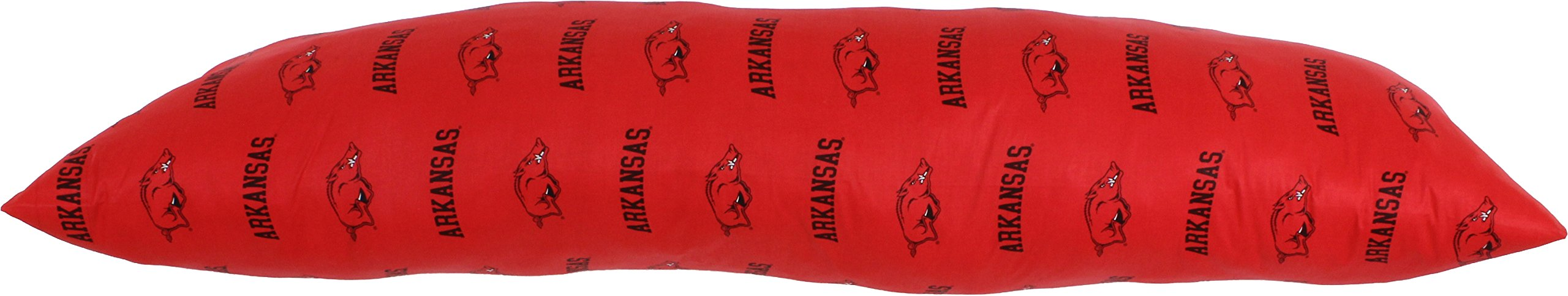 College Covers Arkansas Razorbacks Printed Body Pillow, 20'' x 60'' by College Covers (Image #3)