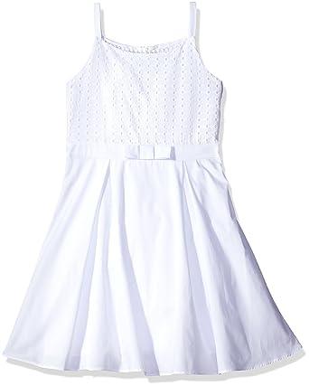White Eyelet Tank Dress