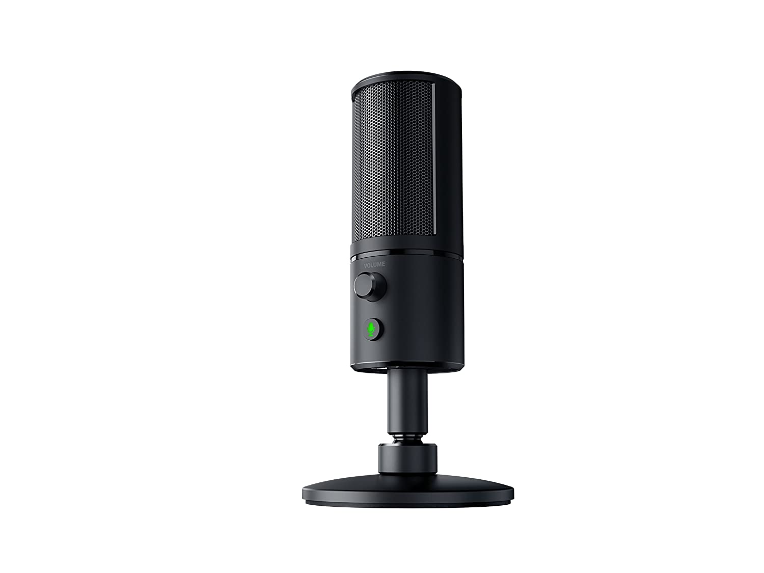 RAZER SEIREN ELITE: Single Dynamic Capsule - Built-In High-Pass Filter - Digital/Analog Limiter - Professional Grade Streaming Microphone Razer Inc. RZ19-02280100-R3U1