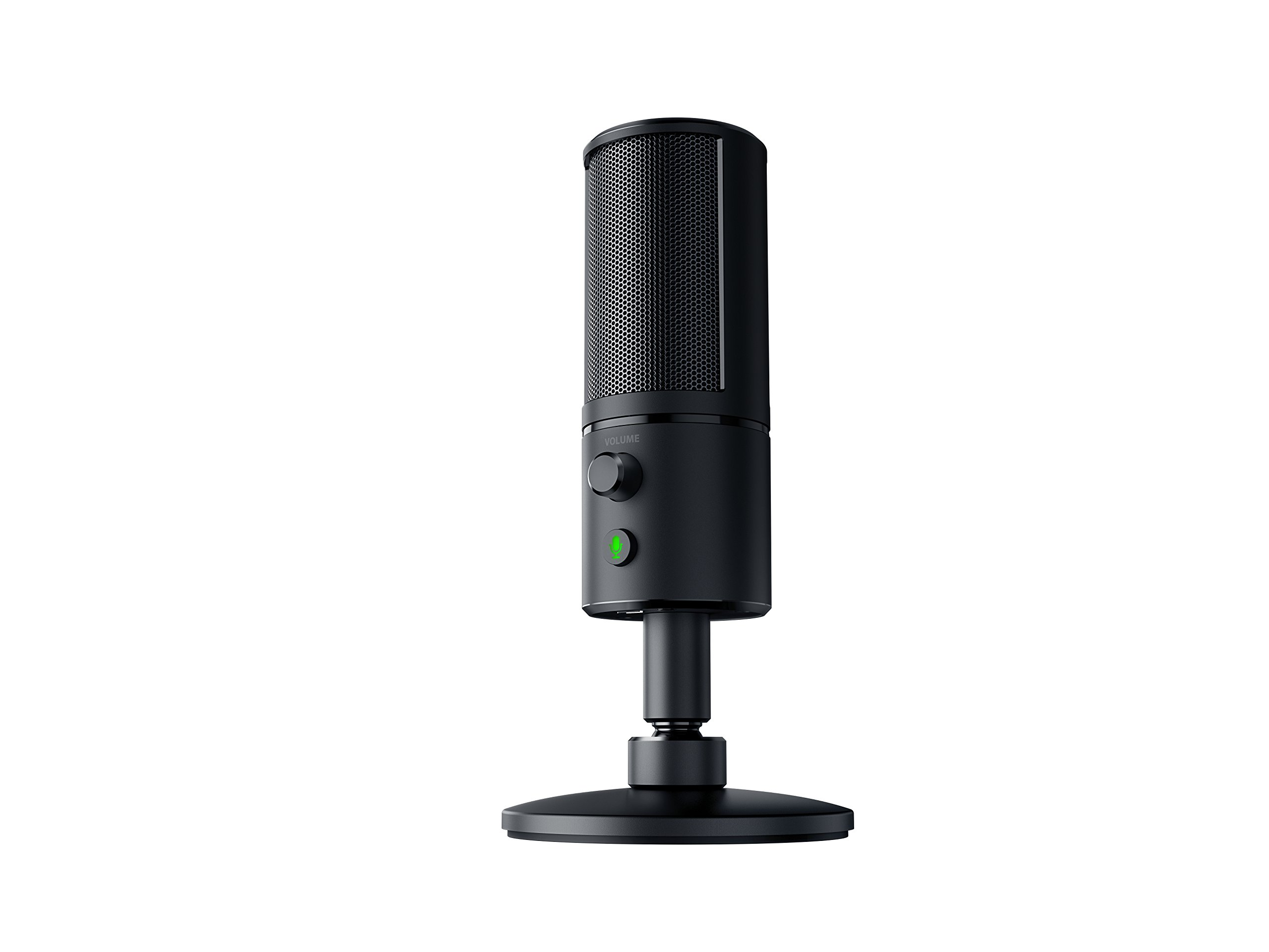 Razer Seiren X: Supercardiod Pick-Up Pattern - Condenser Mic - Built-In Shock Mount - Professional Grade Streaming Microphone