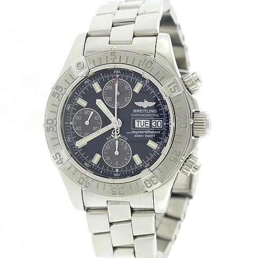 Breitling Superocean automatic-self-wind Mens Reloj a13340 (Certificado) de segunda mano: Breitling: Amazon.es: Relojes